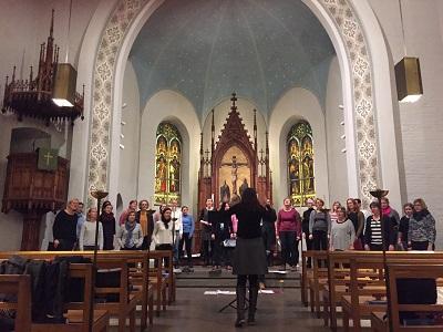 Övning i tyska kyrkan_400